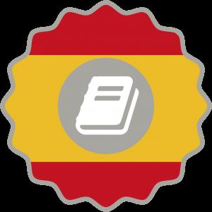 Logo certificado presencial español