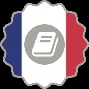 Logo certificado presencial francés